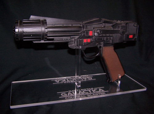 BSG Colonial Blaster stand