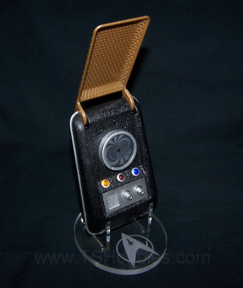 acrylic display stand for Diamond Select Star Trek classic communicator