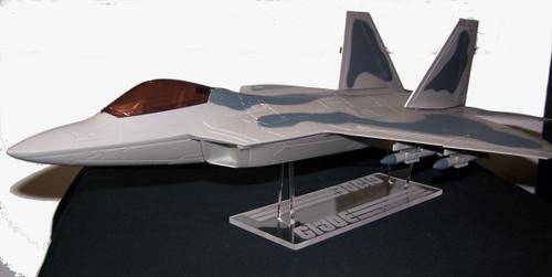True Heroes F-22 display stand