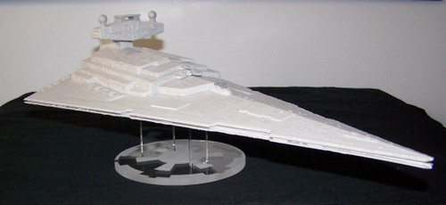 Revell build and play Star Destroyer shown