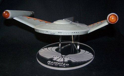 acrylic display stand for Diamond Select Romulan Bird of Prey