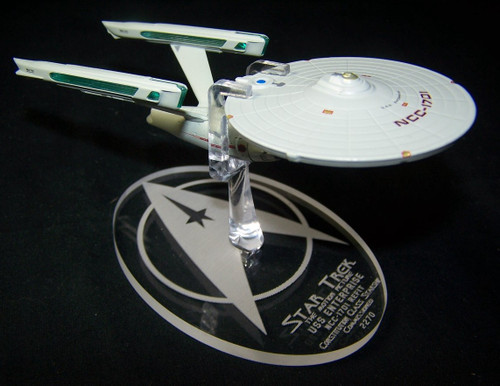 Eaglemoss Star Trek NCC-1701 refit display stand