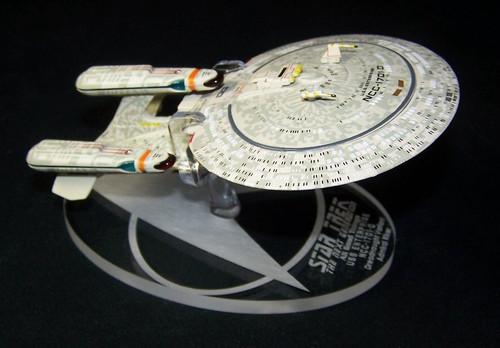 Replacement base for the Eaglemoss Star Trek Enterprise Dreadnaught