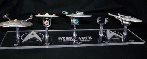 acrylic display base for Eaglemoss Star Trek Enterprise ships