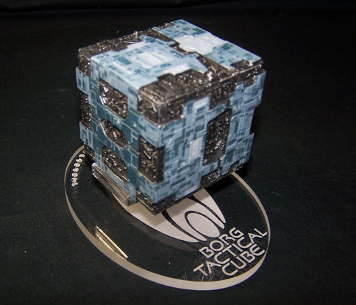 Replacement base for the Eaglemoss Borg Tactical Cube