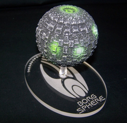 Replacement base for the Eaglemoss Borg Sphere