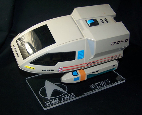 acrylic display stand for Playmates Goddard Shuttlecraft