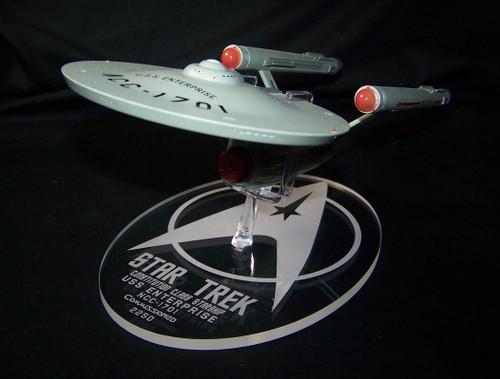 "replacement base for the Eaglemoss 11"" Enterprise"