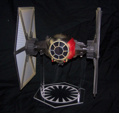 Star Wars First Order Tie Fighter acrylic display stand