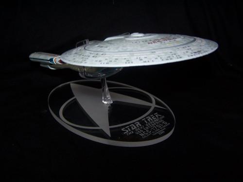 acrylic display base for Eaglemoss Enterprise 1701-D