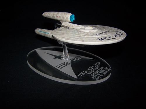 acrylic display base for Eaglemoss USS Kelvin