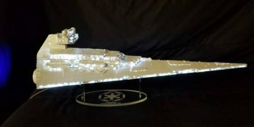 acrylic display stand for Zvezda Star Destroyer