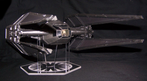 acrylic display stand for Hasbro Kylo Rens Tie Silencer