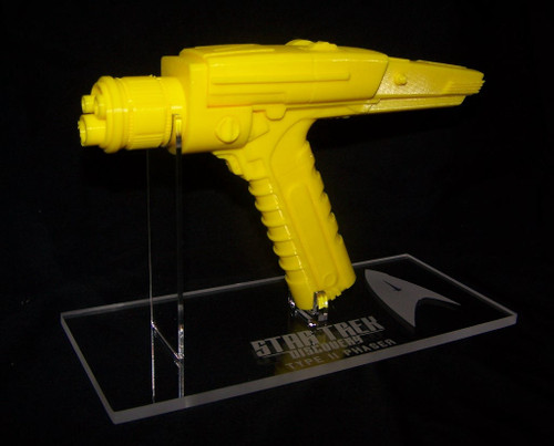 acrylic display stand for Star Trek Discovery Type II phaser