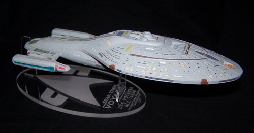 acrylic display stand for the Eaglemoss XL Voyager