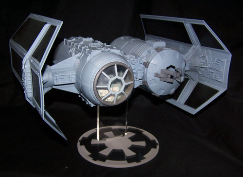 acrylic display stand for the Hasbro Tie Bomber from Star Wars