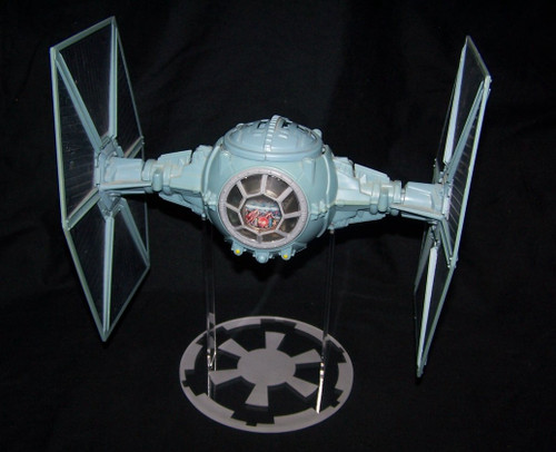 acrylic display stand for Kenner & Hasbro Star Wars Tie Fighters.