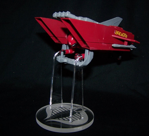 acrylic display stand for the Cobra Jet pack