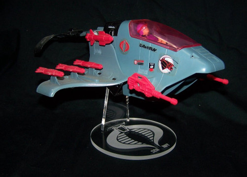 acrylic display stand for GI Joe Cobra Sea Ray
