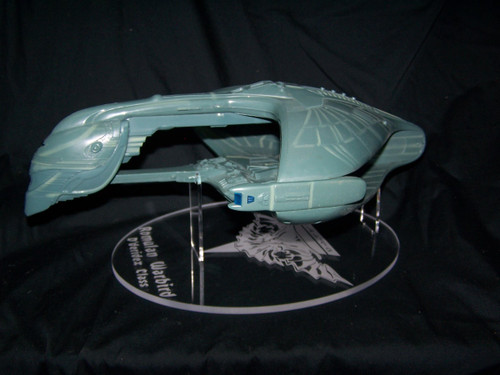 acrylic display stand for Playmates Romulan Warbird