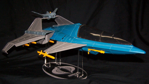 acrylic display stand for the GI Joe Cobra Hurricane VTOL