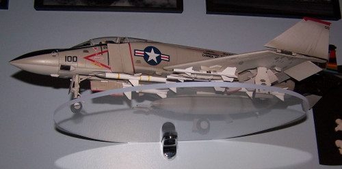 1/32 F-4 Phantom shown on a 12x14
