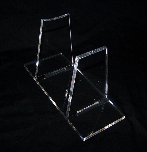 basic acrylic display stand for the Kenner & Hasbro Awing fighter from Star wars