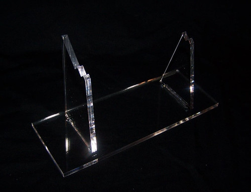 acrylic display stand for the Kenner/Hasbro Ywing fighter from star wars