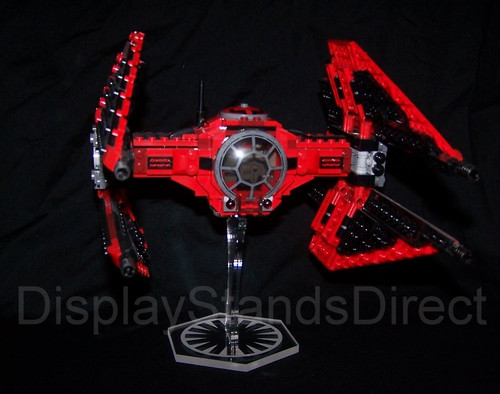 acrylic display stand for Lego Major Vonregs Tie Fighter