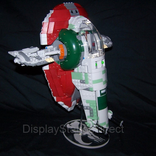 Acrylic display stand for Lego Slave I 20th Anniversary 75243