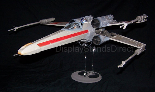 acrylic display stand for Hasbro Star Wars large Xwing fighter