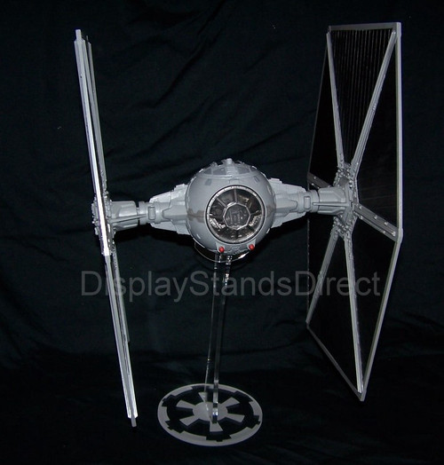 acrylic display stand for Hasbro large wing Tie Fighter from Star Wars