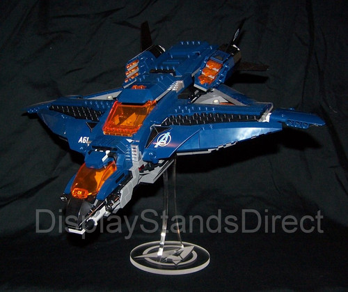acrylic display stand for Lego marvel Avengers Quinjet  76126