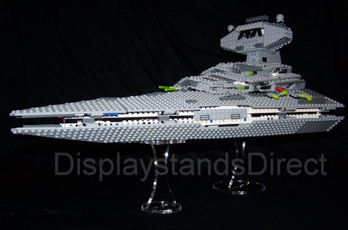 acrylic display stand for Lego set 6211 Star Wars Star Destroyer