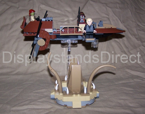 acrylic display stand for Lego Star Wars Desert skiff