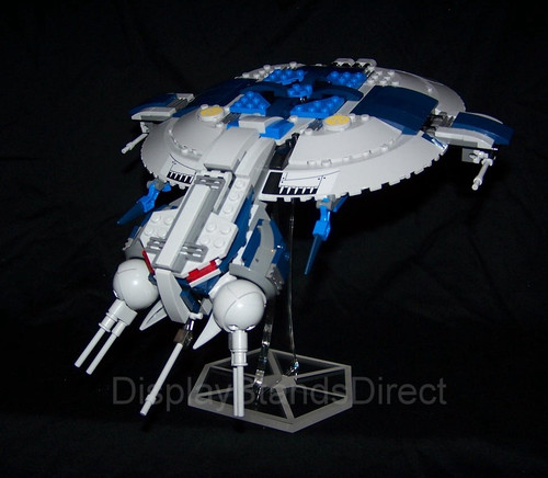 acrylic display stand for Lego Star Wars Droid Gubship 75042