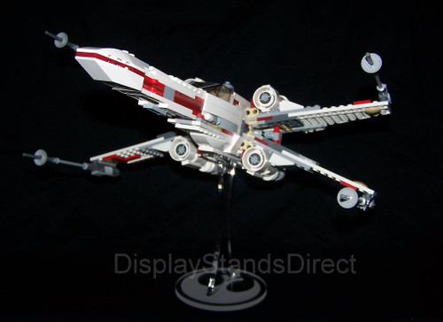 acrylic display stand for Lego Star Wars X-wing 9493 75102 75149