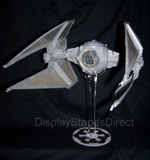 acrylic display stand for Kenner vintage Star Wars Tie Fighter & Interceptor