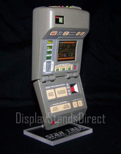 display stand for Playmates Star Trek TNG Tricorder