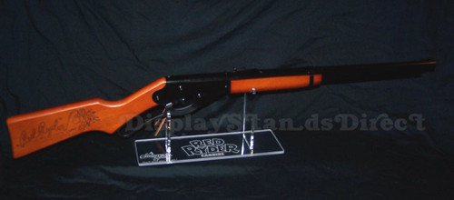 Display stand for Daisy Red Ryder carbine A Christmas Story