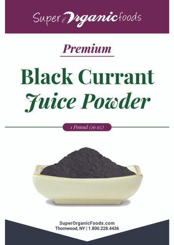 Black Currant Juice Powder-Premium