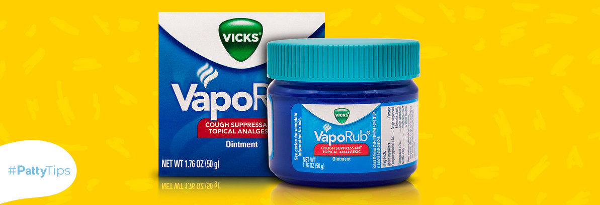 4 uncommon uses for Vicks VapoRub that will change your life.
