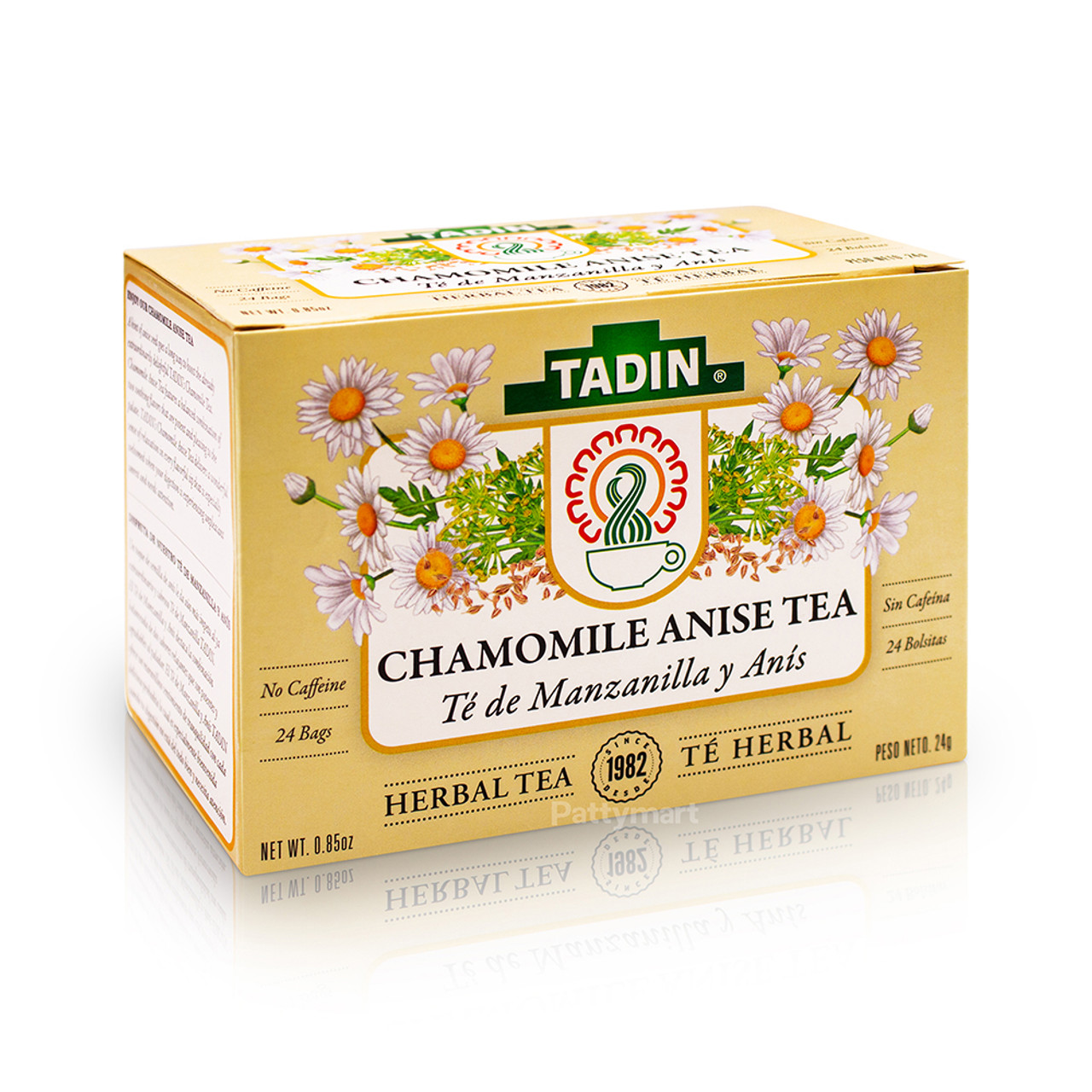 Tadin Tea Chamomile And Anise Te Manzanilla Y Anis