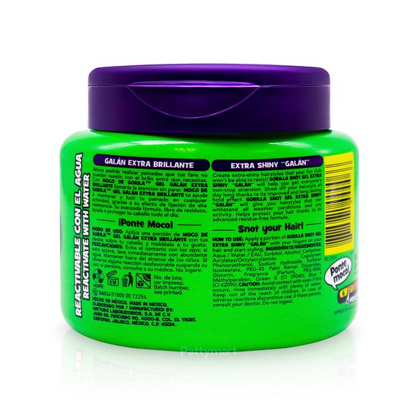 Gel Moco Gori Galan Jar (Verde) 9.52 Oz