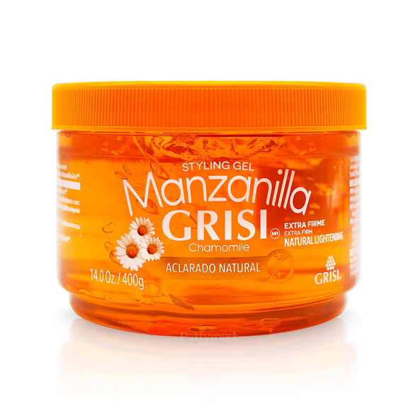 Gel Grisi Manzanilla Styling Gel 14 Oz