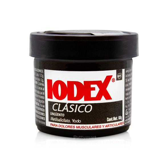 Iodex Clásico 60 Gr (Café)
