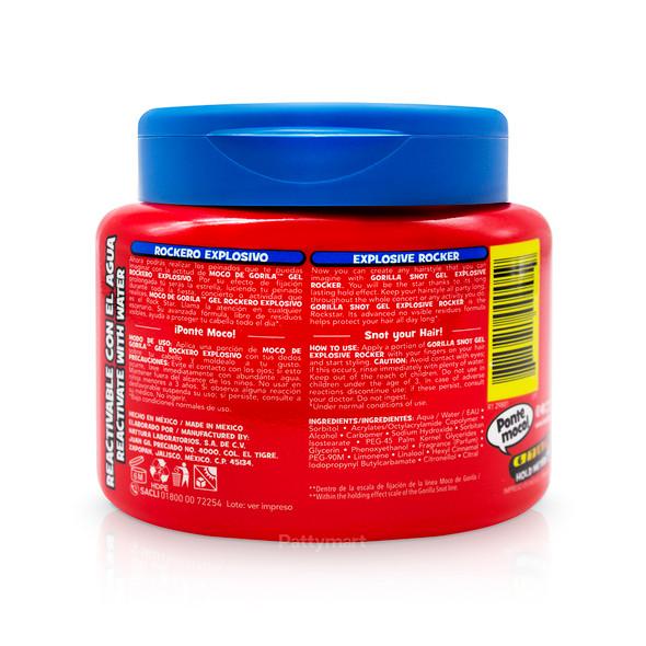 Gel Moco Gori Rockero Jar (Rojo) 9.52 Oz