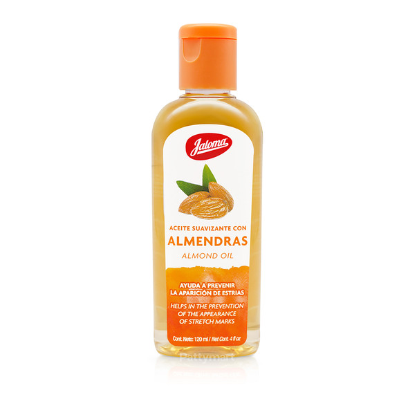 Aceite Almendras Jaloma 4oz (tapa naranja)