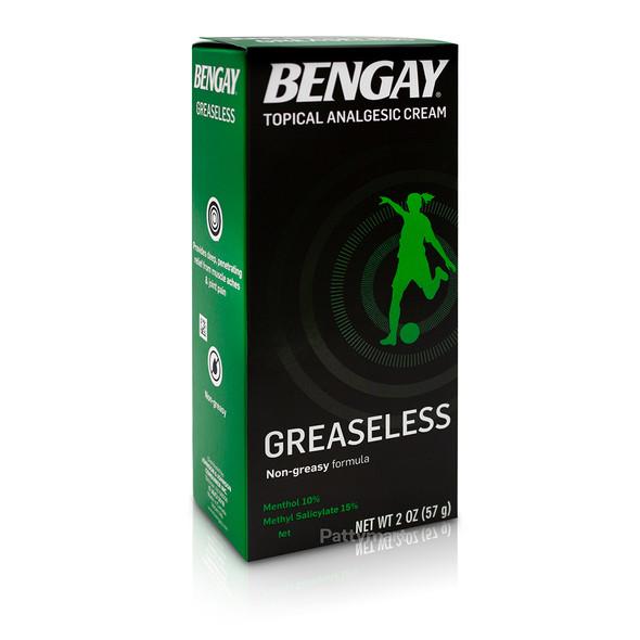 Bengay Verde Greaseless 2 Oz