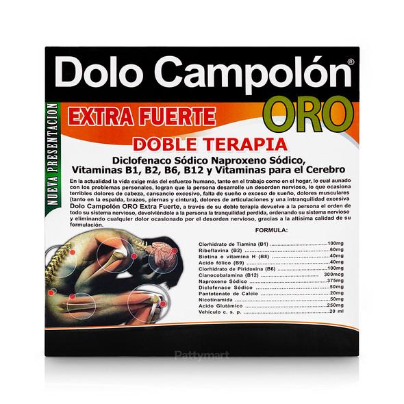 DOLO CAMPOLON ORO EXTRA FUERTE BEBIBLE